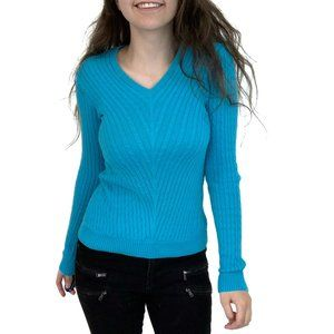 Lilly Pulitzer Cable Knit Blue Sweater